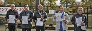 スカイクロスジャパンオープン 2012 京都大会 入賞者 男子の部